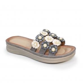 JLH044 Sage Flower Power Sandal