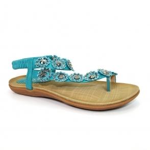 JLH601 Charlotte Flower Sandal