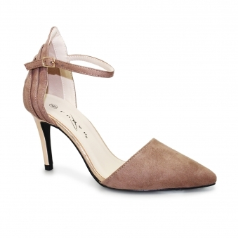 FLH920 Isla Suede Ankle Strap Court