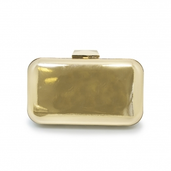 ZLH918 Darcie Metallic Clutch Bag
