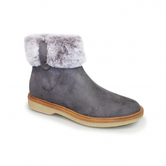 GLC644 Pam Faux Fur Ankle Boot