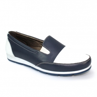 FLT002 Tibby Leather Comfort Shoe