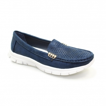FLH096 Bellagio Light Weight Moccasin