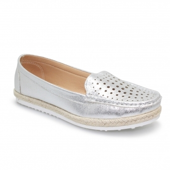 FLY121 Tyler Espadrille Moccasin