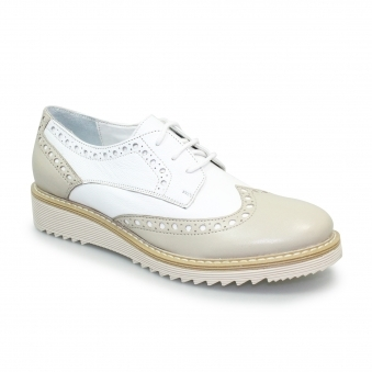 FLH662 Embry Leather Brogue