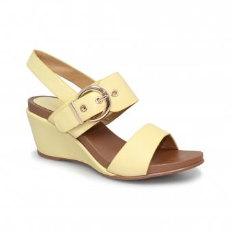 JLH011 Libby Wedged Buckle Sandal