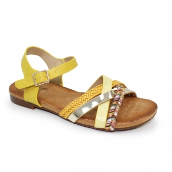 JLH034 Louisa Multi Cross Strap Sandal