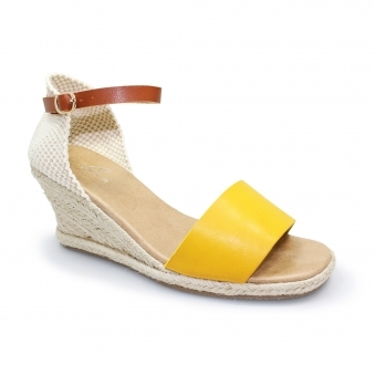 JLC133 Detroit Summer Espadrille Wedge