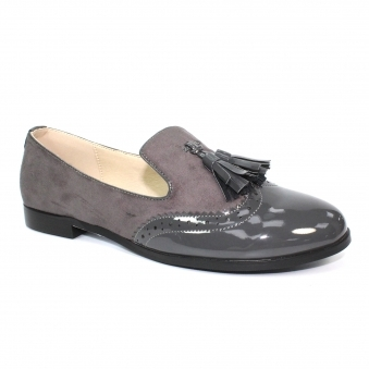 FLC177 Bingley Patent Tassel Loafer