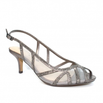 FLR540 Miley Wide Fitting Mesh Sandal