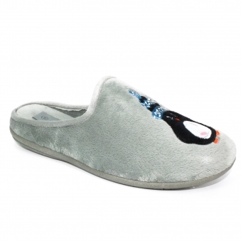 KLW002 Penguin Mule Slipper