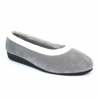 KLA123 Mabel Fleece Pump Slipper