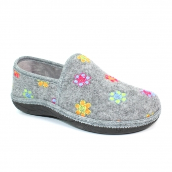 KLS110 Camden Full Floral Slipper