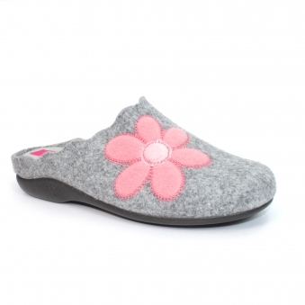 KLA097 Boop Scalloped Mule Slipper