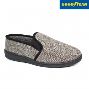 Lek Herringbone Full Slipper