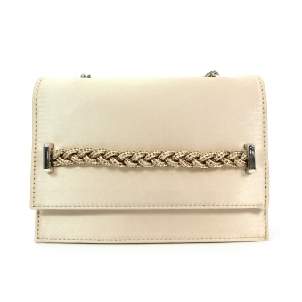 ZLE086 Confetti Weaved Clutch Bag