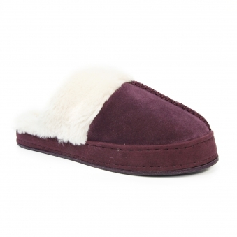 KLV015 Dream Suede Mule Slipper