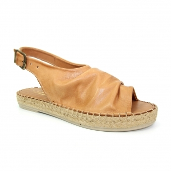 JLR003 Ana Leather Espadrille Sandal