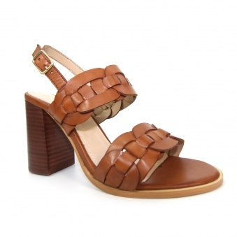 JLG051 Alessia Weaved Leather Sandal