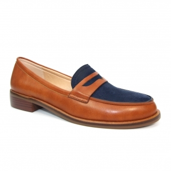 FLC243 Panache Two Tone Loafer