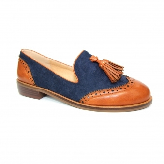 FLC234 Logan Two Tone Loafer