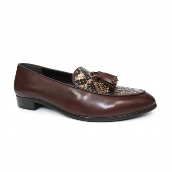 FLG008 Spencer Snake Loafer