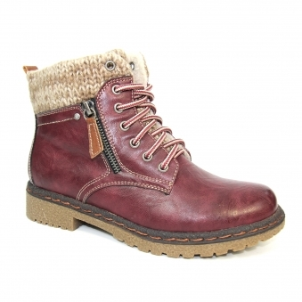 GLB031 Benson Lace Up Ankle Boot