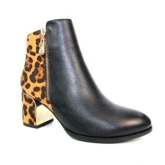 GLC755 Solar Animal Print Ankle Boot