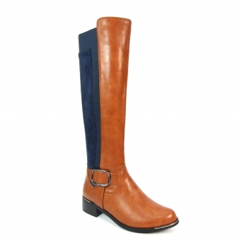 GLC770 Lucy Knee Length Long Boot