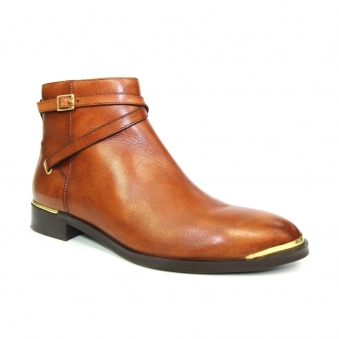 GLG025 Fenella Leather Ankle Boot