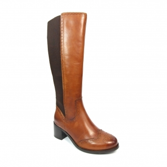 GLG028 Briar Heeled Long Boot