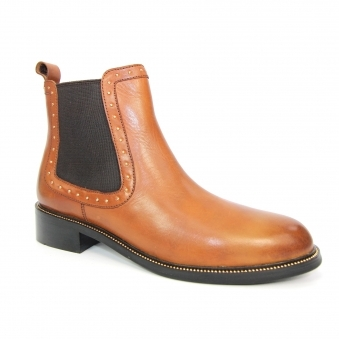 GLG030 Cormac Elasticated Ankle Boot