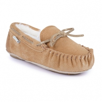 KCD102 Kids Sadie Junior Moccassin Slipper